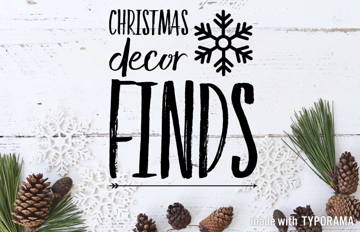 Where to find the best christmas decor for Christmas decorations where to buy